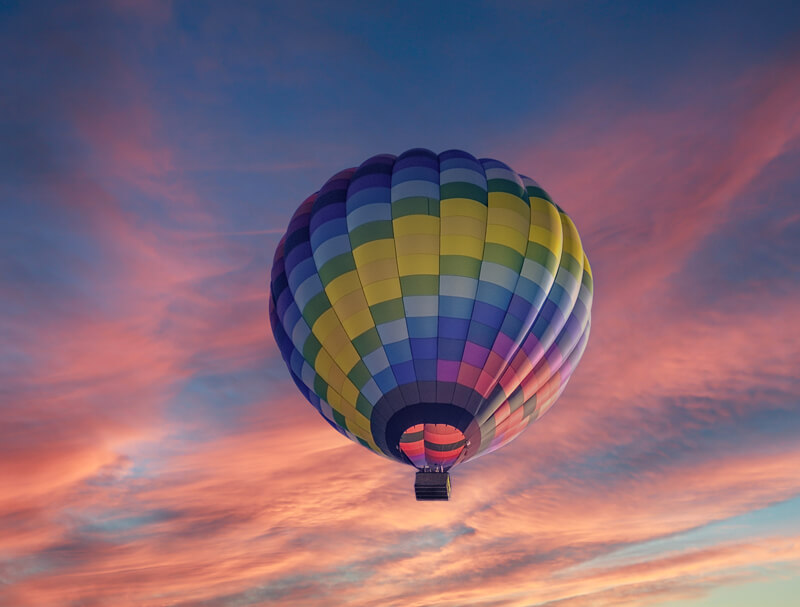 Have you ever flown in a hot air balloon
